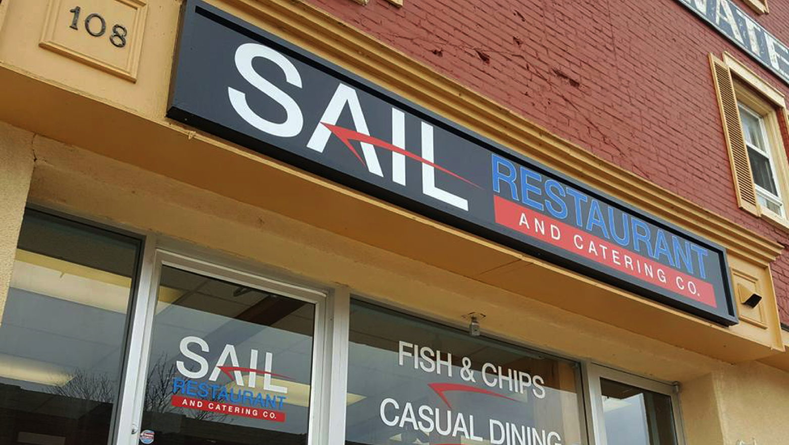Sail Restaurant and Catering Co. logo