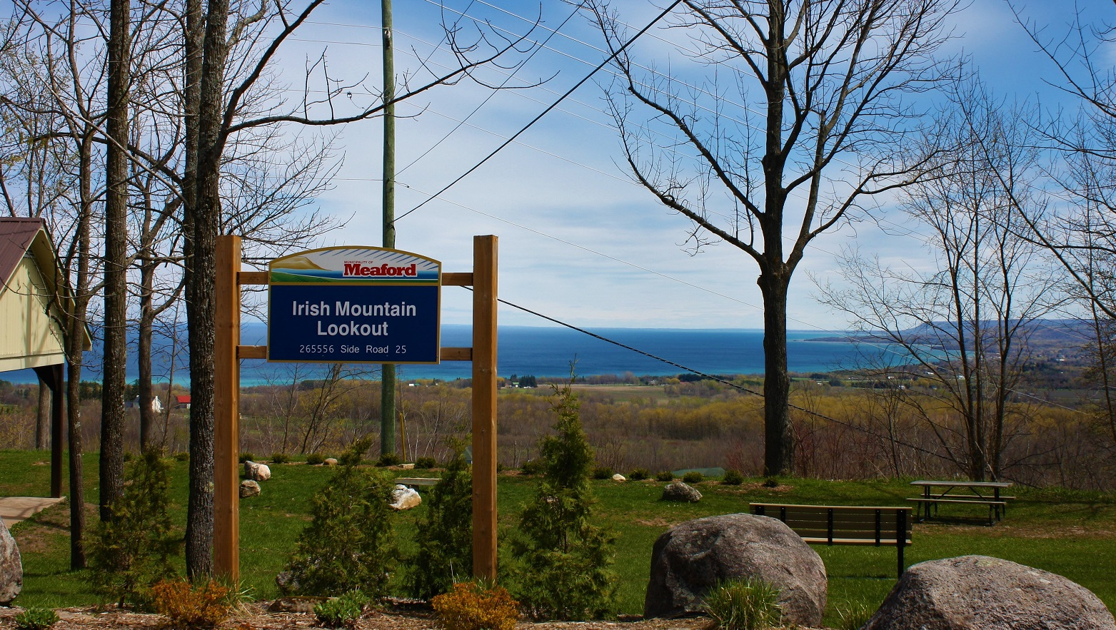 Full size lightbox of Irish Mountain Lookout image 0